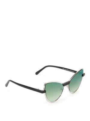 J Plus: sunglasses - Cat-eye minimalistic sunglasses