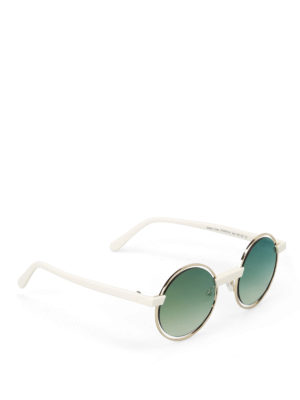 J Plus: sunglasses - Eclectic rounded sunglasses