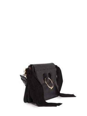 J.W. Anderson: shoulder bags online - Pierce side bows detail bag