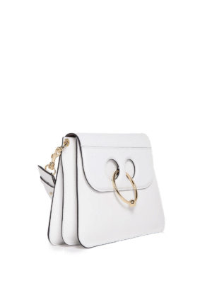 J.W. Anderson: shoulder bags online - Pierce smooth leather bag