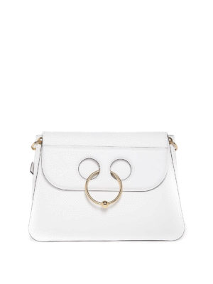 J.W. Anderson: shoulder bags - Pierce smooth leather bag