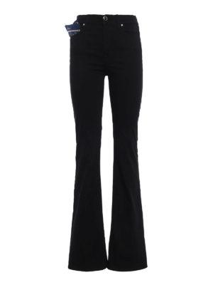 Jacob Cohen: bootcut jeans - Linda high rise cotton jeans