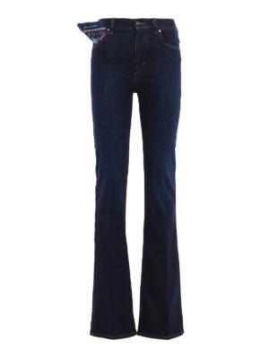 Jacob Cohen: bootcut jeans - Linda high rise jeans