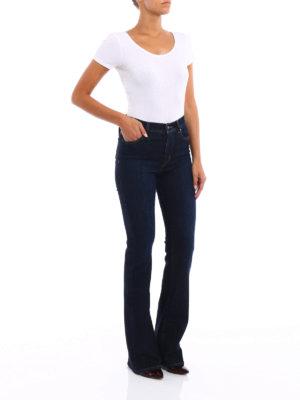 Jacob Cohen: bootcut jeans online - Linda high rise jeans
