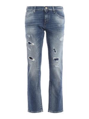 Jacob Cohen: Boyfriend - Karen distressed jeans