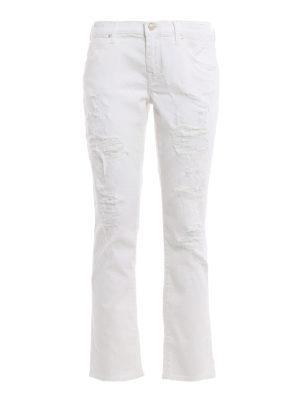 Jacob Cohen: Boyfriend - Karen worn out distressed jeans