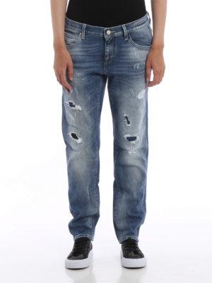 Jacob Cohen: Boyfriend online - Karen distressed jeans