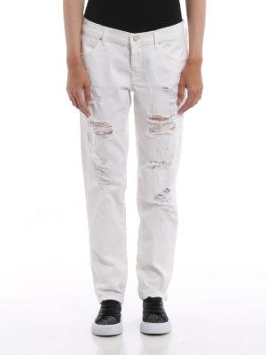 Jacob Cohen: Boyfriend online - Karen worn out distressed jeans
