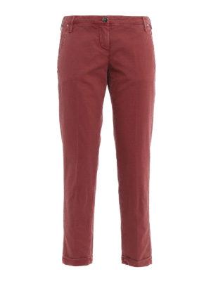 Jacob Cohen: casual trousers - Brigitte cotton jacquard trousers