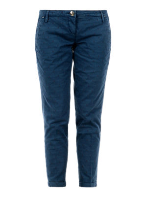 Jacob Cohen: casual trousers - Brigitte micro pattern trousers