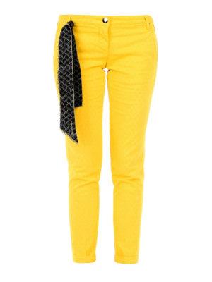 Jacob Cohen: casual trousers - Brigitte stretch cotton trousers