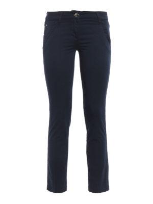 Jacob Cohen: casual trousers - Chloe low rise cotton trousers