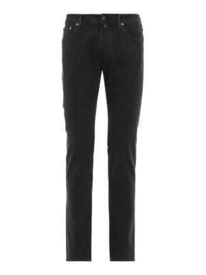 JACOB COHEN: pantaloni casual - Pantaloni style 688 cinque tasche in cotone