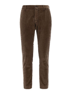 Jacob Cohen: casual trousers - Corduroy tailored trousers