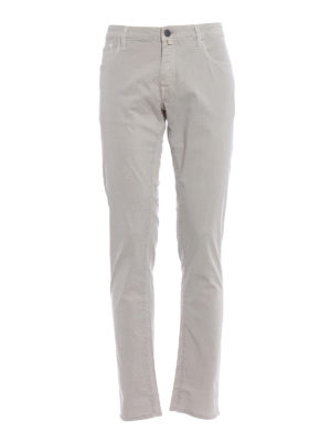 Jacob Cohen: casual trousers - Cotton blend tailored  trousers