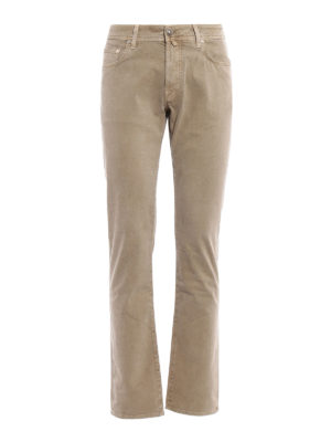 Jacob Cohen: casual trousers - Cotton twill trousers