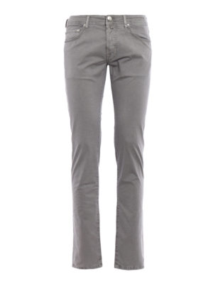 Jacob Cohen: casual trousers - Grey stretch cotton trousers
