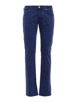 Jacob Cohen: casual trousers - Handkerchief detailed trousers