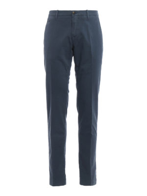 Jacob Cohen: casual trousers - Jacquard cotton trousers