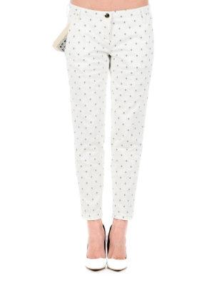 Jacob Cohen: casual trousers online - Brigitte micro pattern trousers