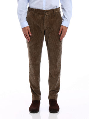 Jacob Cohen: casual trousers online - Corduroy tailored trousers