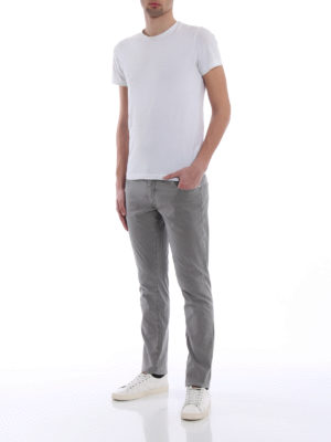 Jacob Cohen: casual trousers online - Cotton blend tailored grey trousers