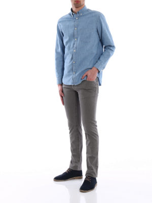 Jacob Cohen: casual trousers online - Cotton micro patterned trousers