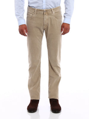 Jacob Cohen: casual trousers online - Cotton twill trousers