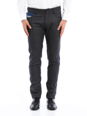 Jacob Cohen: casual trousers online - Flannel tailored jeans