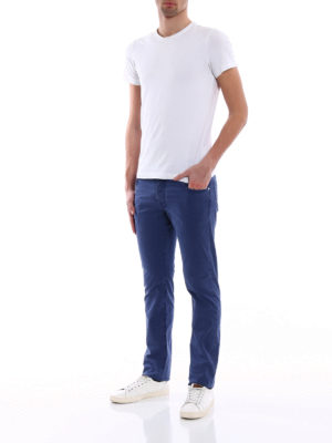Jacob Cohen: casual trousers online - Handkerchief detailed trousers
