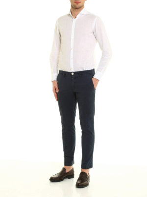 Jacob Cohen: casual trousers online - PW626 gabardine trousers