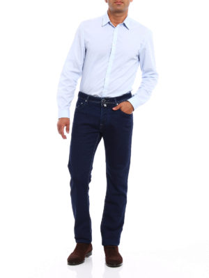 Jacob Cohen: casual trousers online - Soft cotton and wool trousers