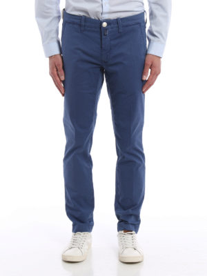 Jacob Cohen: casual trousers online - Stretch cotton chino trousers