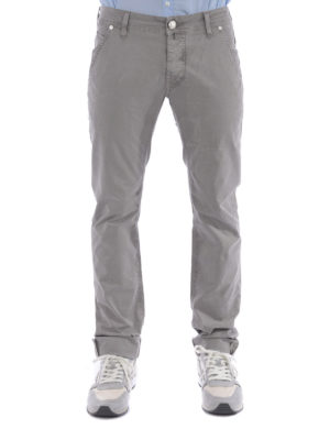 Jacob Cohen: casual trousers online - Stretch cotton trousers