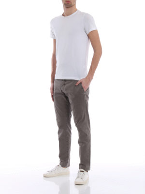 Jacob Cohen: casual trousers online - Stretch sateen cotton trousers