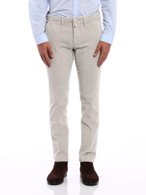 Jacob Cohen: casual trousers online - Style 626 sand corduroy trousers