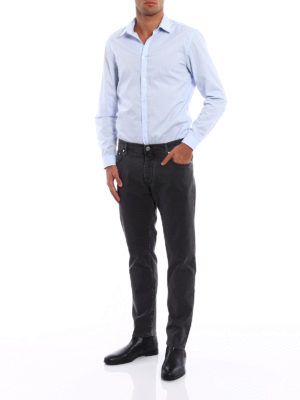 Jacob Cohen: casual trousers online - Style 656 herringbone trousers