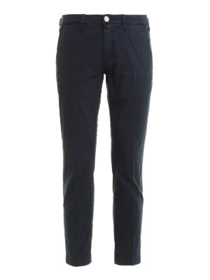 Jacob Cohen: casual trousers - PW626 gabardine trousers