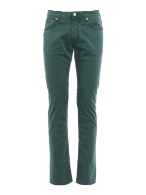 Jacob Cohen: casual trousers - PW688 Comf stretch cotton trousers