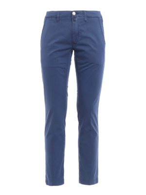 Jacob Cohen: casual trousers - Stretch cotton chino trousers