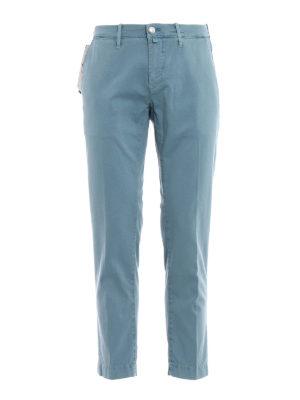 Jacob Cohen: casual trousers - Stretch cotton jacquard trousers
