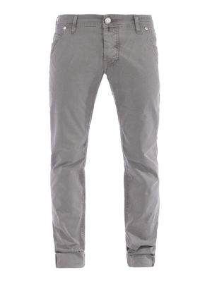 Jacob Cohen: casual trousers - Stretch cotton trousers