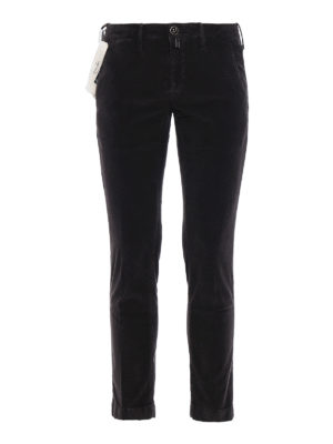 Jacob Cohen: casual trousers - Style 626 brown corduroy trousers