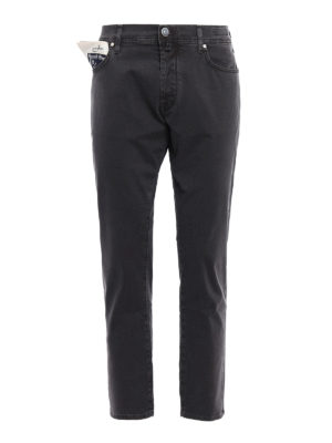 Jacob Cohen: casual trousers - Style 656 herringbone trousers