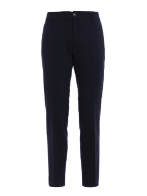 Jacob Cohen: casual trousers - Style 666 wool blend trousers