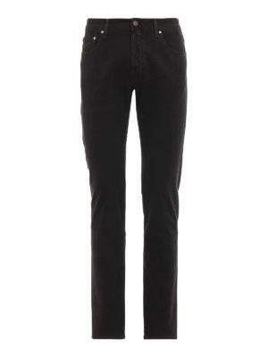 JACOB COHEN: pantaloni casual - Pantaloni cinque tasche style 688 in cotone