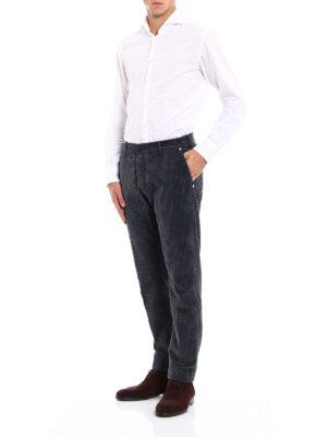 JACOB COHEN: pantaloni casual online - Pantaloni in velluto a costine