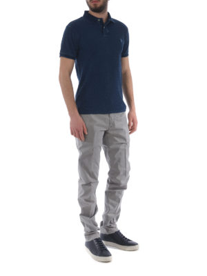 JACOB COHEN: pantaloni casual online - Pantaloni in cotone stretch grigio
