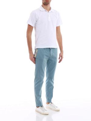 JACOB COHEN: pantaloni casual online - Pantaloni in cotone jacquard