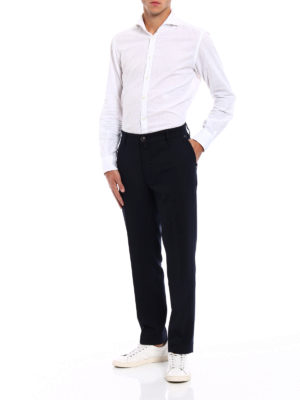 JACOB COHEN: pantaloni casual online - Pantaloni Style 666 in lana tecnica